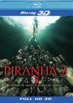 PIRANHA 2 3D (BLU-RAY)